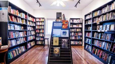 The fiction room at Turn of the Corkscrew