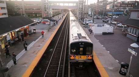 The Long Island Rail Road cautions its riders