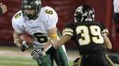 William Floyd's Luke Miller looks to evade Sachem