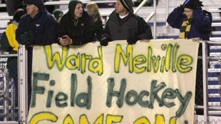 Ward Melville's die hard fans brave the cold