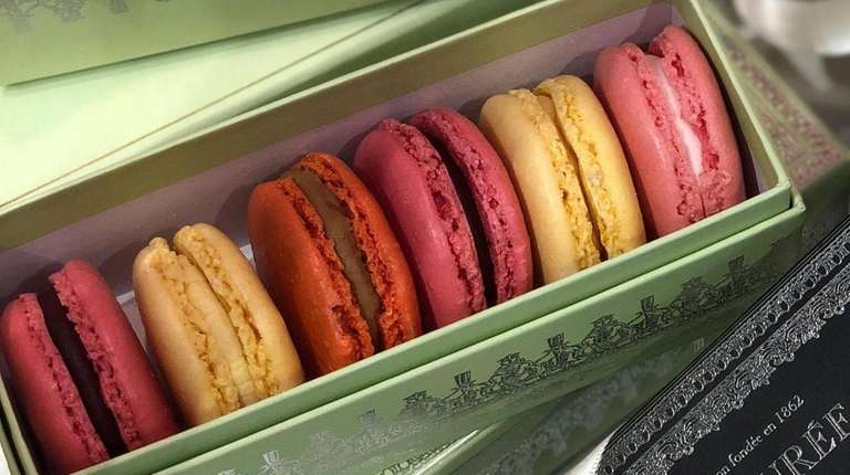 Macarons from the Parisan pastry shop Ladurée at