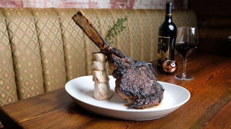 The 42-ounce Tomahawk steak at Doma Land and