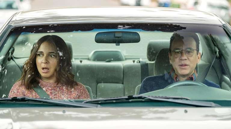 """Forever"" stars Maya Rudolph and Fred Armisen."