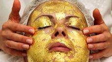 The 24 Karat gold facial at Skin by