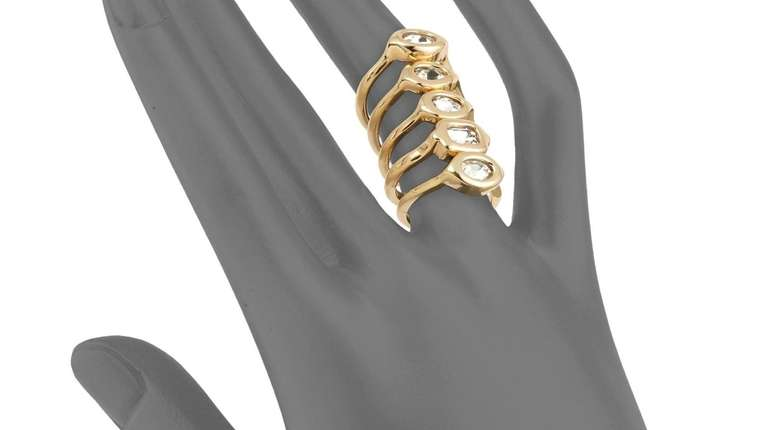 Set of stackable rings from Lord & Taylor.