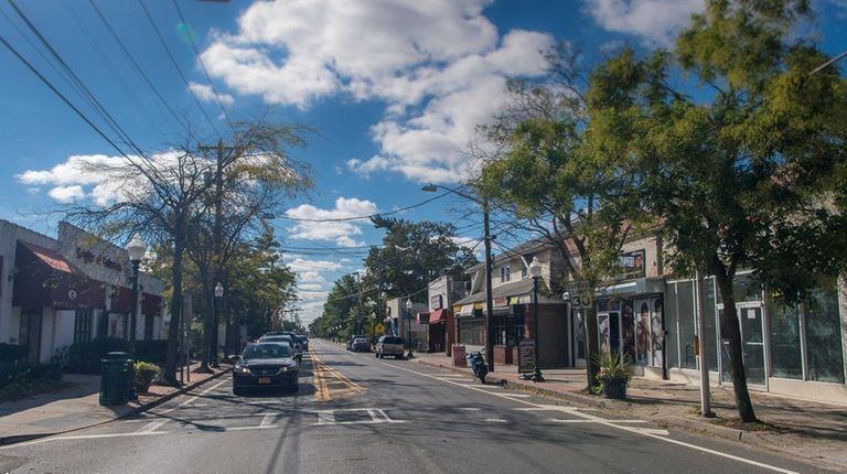 The Carleton Avenue corridor in Central Islip is