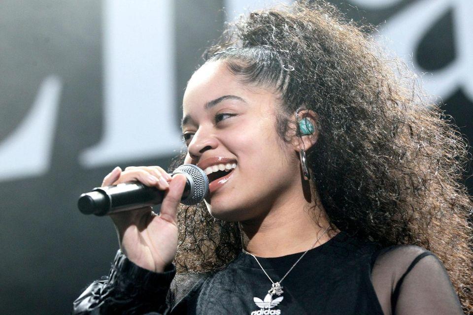 NEWARK, NJ - OCTOBER 28: Singer Ella Mai