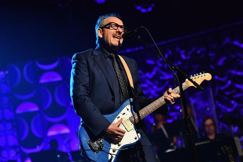 NEW YORK, NY - JUNE 09: Elvis Costello