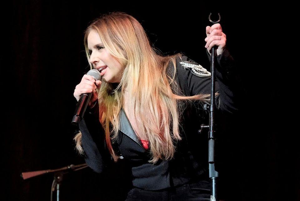 NASHVILLE, TN - SEPTEMBER 26: Singer Lucie Silvas