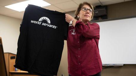 Southampton High School Assistant Principal Susan Wright, who