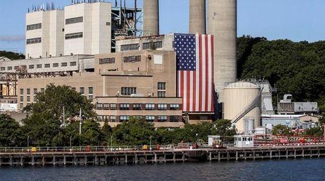 PSEG's Port Jefferson power plant is shown on