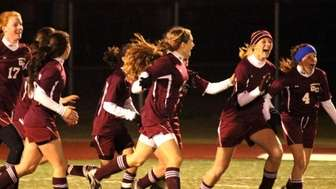 Garden City's celebration after winning their game against