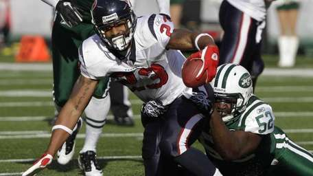Houston Texans running back Arian Foster (23) is