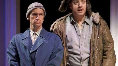 Denis O'Hare and Brendan Fraser in