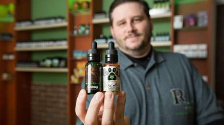 Charles Wagner, owner of Silver Laboratories and CBD