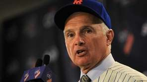 New York Mets new manager Terry Collins speaks