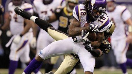Vikings wide receiver Sidney Rice