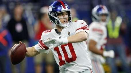 Could Eli Manning's time with the Giants be