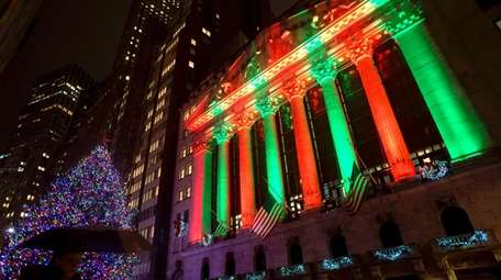 The New York Stock Exchange on Thursday evening.