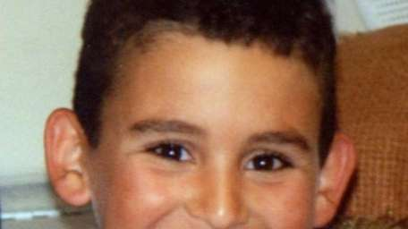 Robbie Levine, 9, in a photo taken in