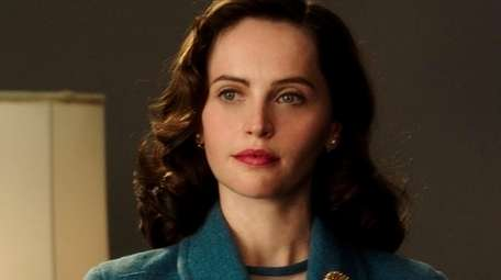 Felicity Jones stars as Ruth Bader Ginsburg in