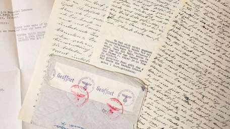 A few of the letters written by Ted