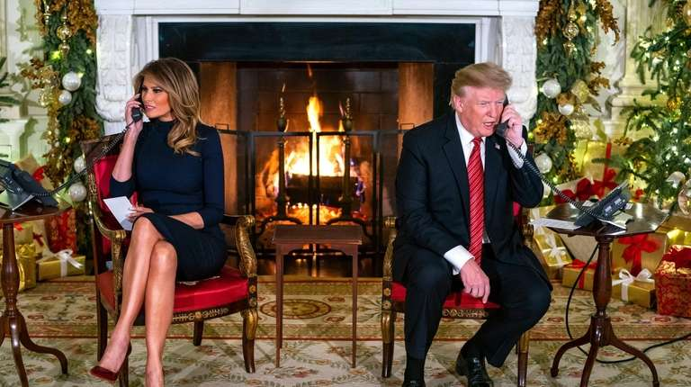 Trump Christmas.In Trump S Tweets Twas The Spite Before Christmas Newsday
