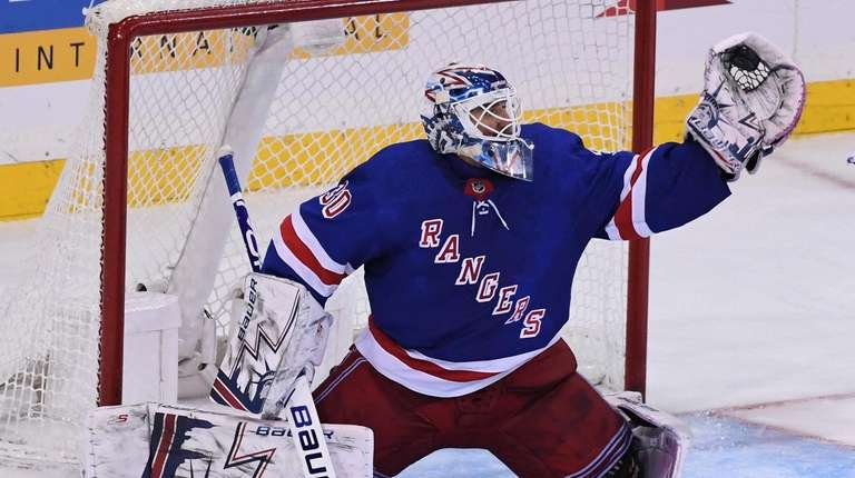 Henrik Lundqvist Is The Biggest Strength The Rangers Have Newsday