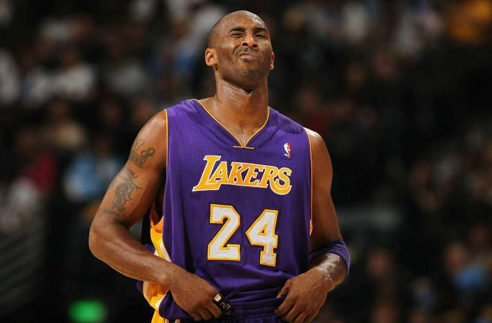 Retired Los Angeles Lakers player Kobe Bryant is