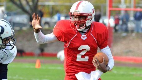 Freeport quarterback Isaiah Barnes in an undated file