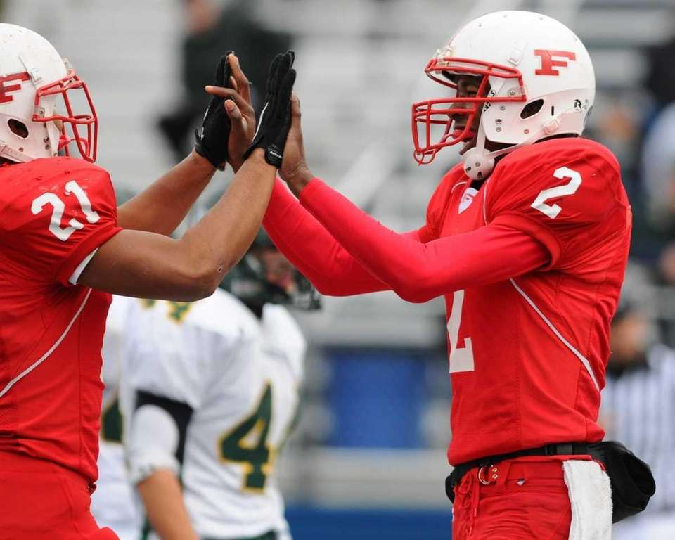 Isaiah Barnes (pictured, right) ignited an unstoppable Freeport