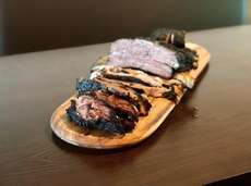 Brisket, front, and short rib are among the