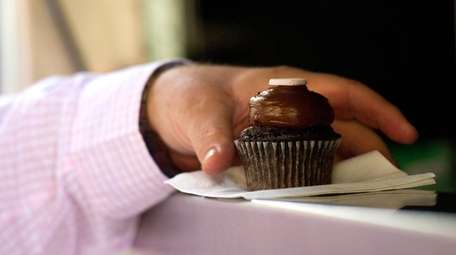 A cupcake. The risk for heart disease and