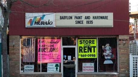 After 75 years, the Babylon Paint and Hardware