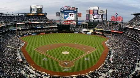 The New York Mets Citi Field on April