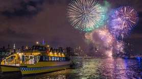 New York Water Taxi offers a New Year's