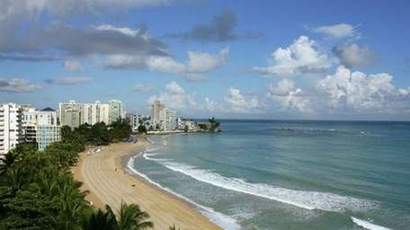 Beach in San Juan
