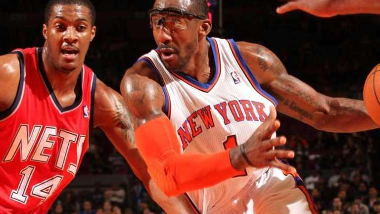 Amar'e Stoudemire's Knicks and Derrick Favors' Nets may