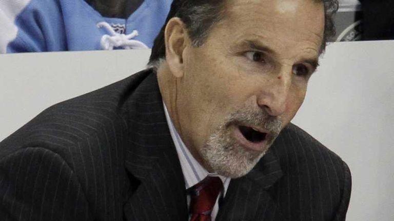 Rangers coach John Tortorella spoke to league officials
