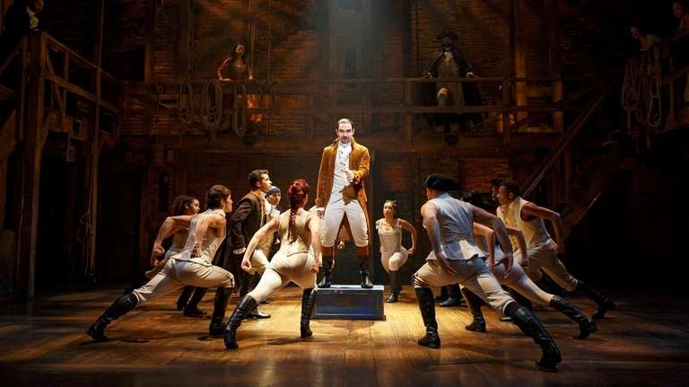"The Broadway smash ""Hamilton"" will be performed in"