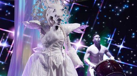 There's a celebrity hidden beneath the  Unicorn