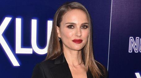 "Natalie Portman attends the premiere of ""Vox Lux"""