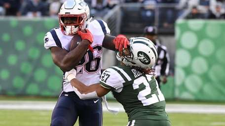 Sony Michel and the Patriots ran all over