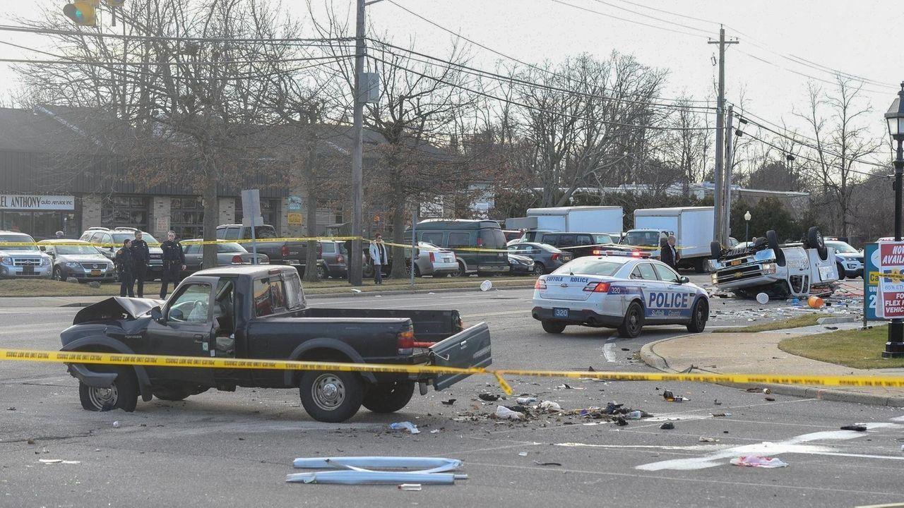 Gilbert Lollis, 53, of Bellport, was killed Thursday