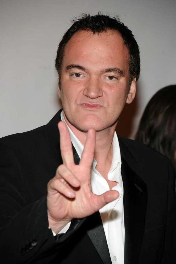 Director Quentin Tarantino attends the Friars Club roast