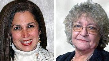 Maria Maranga and Patricia Kurz