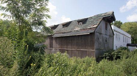 The Roslyn Grist Mill is seen in August.
