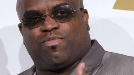 Cee-Lo Green is seen backstage at the Grammy