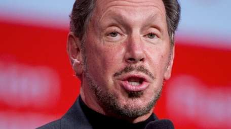 Larry Ellison, chief executive of Oracle Corp. Ellison