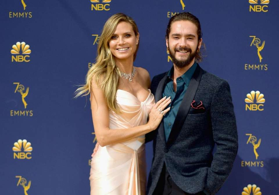 Model Heidi Klum got engaged to her musician